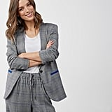 POPSUGAR Essential Plaid Blazer
