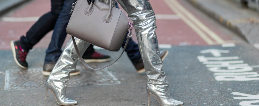 14 Reasons Silver Boots Have the Street Style Seal of Approval