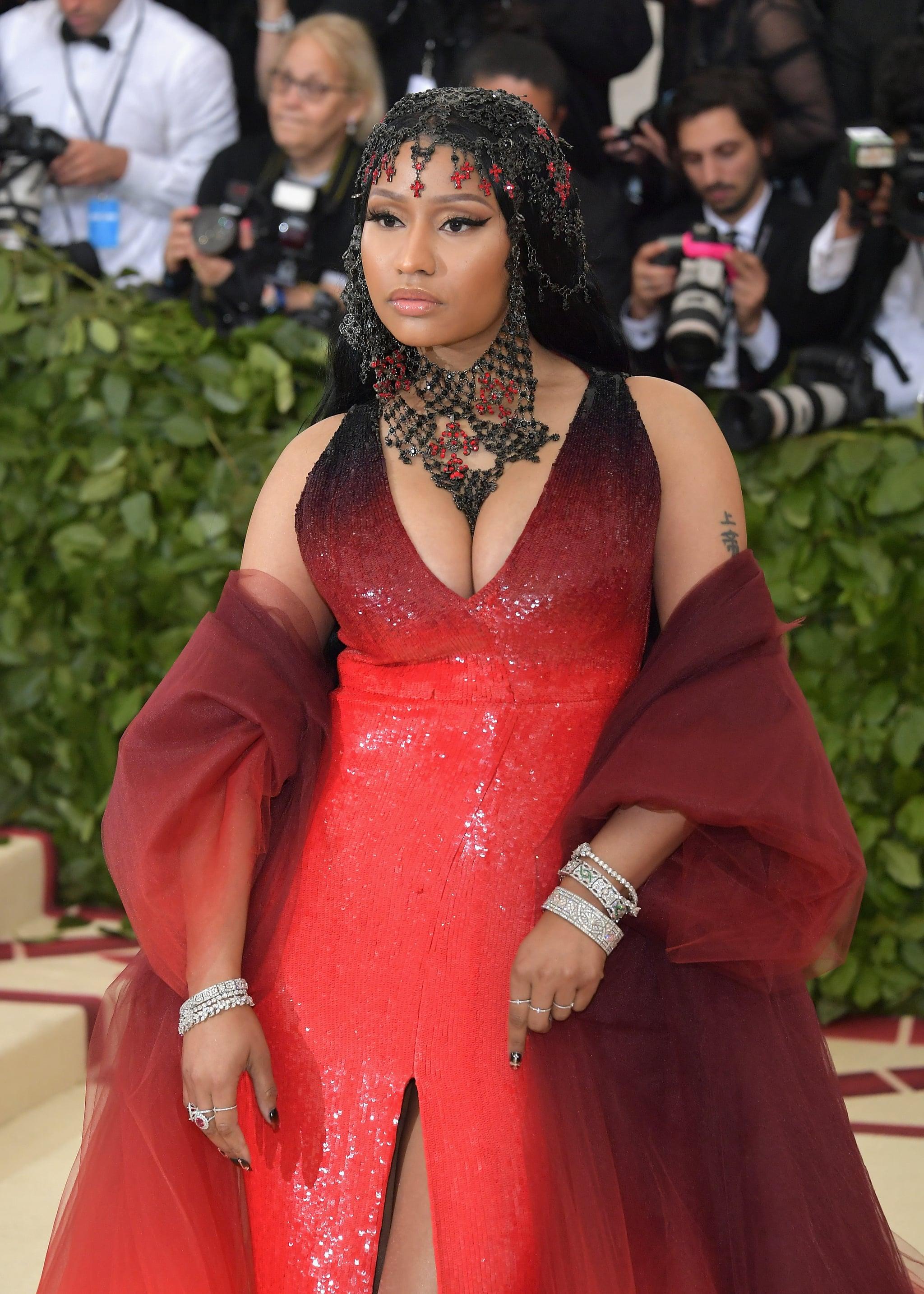 Nicki Minaj Met Gala Dress 2018   POPSUGAR Fashion