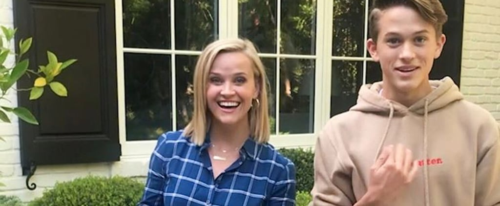 Reese Witherspoon's Son Deacon Teaches Her About Tik Tok
