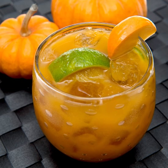 Pumpkin Caipirinha Cocktail