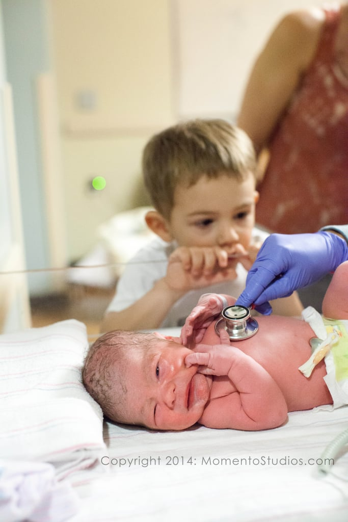 Older Siblings Meeting New Babies