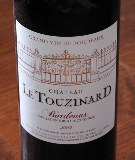 Wine Review: 2009 Chateau Le Touzinard Bordeaux Rouge