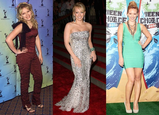 Hilary Duff's Style at Red Carpet Events Over the Years