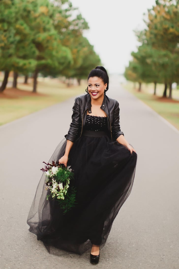 All-Black Wedding Ideas That Make Traditional Seem Overrated