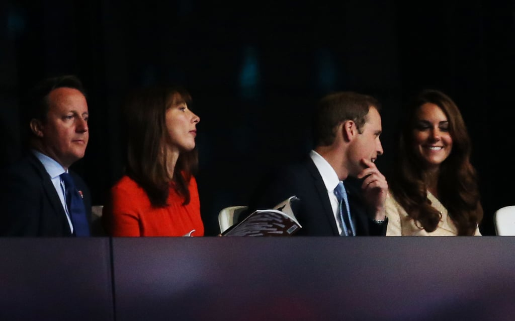 Kate Middleton Goes With Gold at the Paralympics Opening Ceremony
