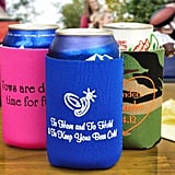 Wedding Beer Can Koozie Favors