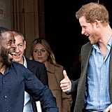 Prince Harry in Nottingham February 2017