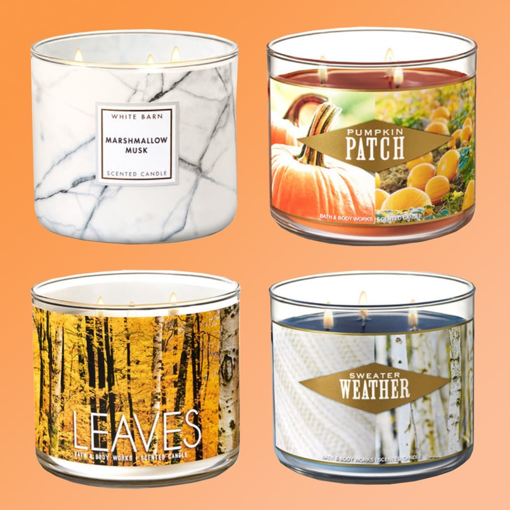 Bath Body Works Fall Candles 2018 Popsugar Home