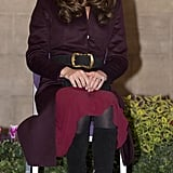 Kate Middleton visited the Newcastle Civic Centre in Newcastle upon Tyne.
