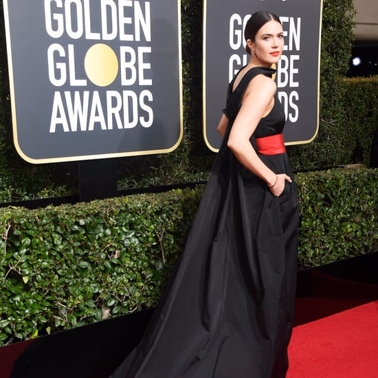 Mandy Moore's Golden Globes Dress 2018