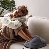 Sharper Image Massager Foot Pillow