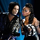 Jack White and Ruby Amanfu