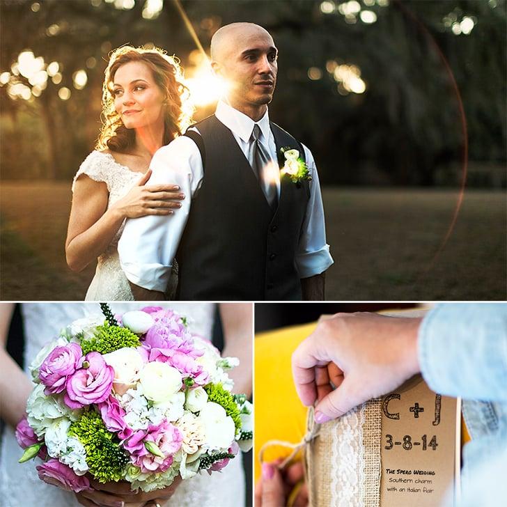 Chrissy and Joshua's Rustic Savannah Wedding