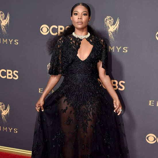 Gabrielle Union at the 2017 Emmy Awards