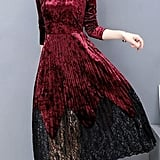 SummerWomen Velvet Dress