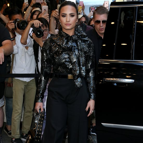 Demi Lovato at Marc Jacobs's NYFW Show September 2016