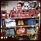 PopSugar Shop's Danny Feekes has got one thing on his mind — can you guess what?