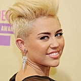 Miley Cyrus at the 2012 MTV Video Music Awards in September 2012