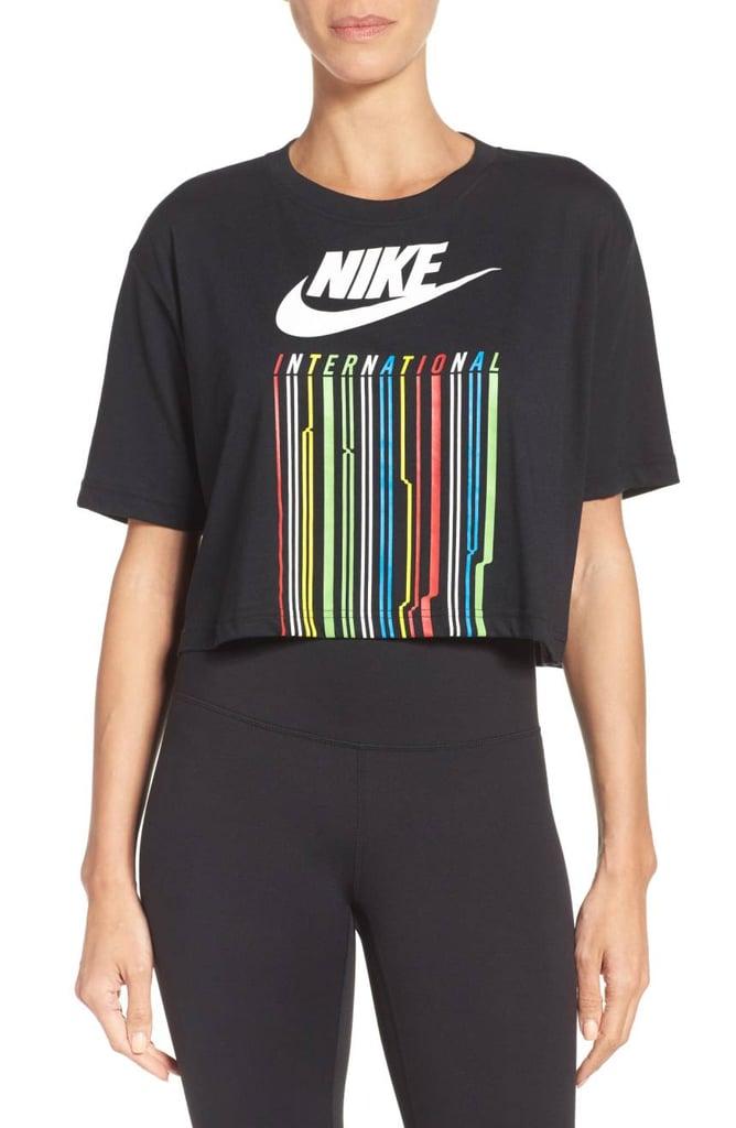Nike International Drop Crop Tee