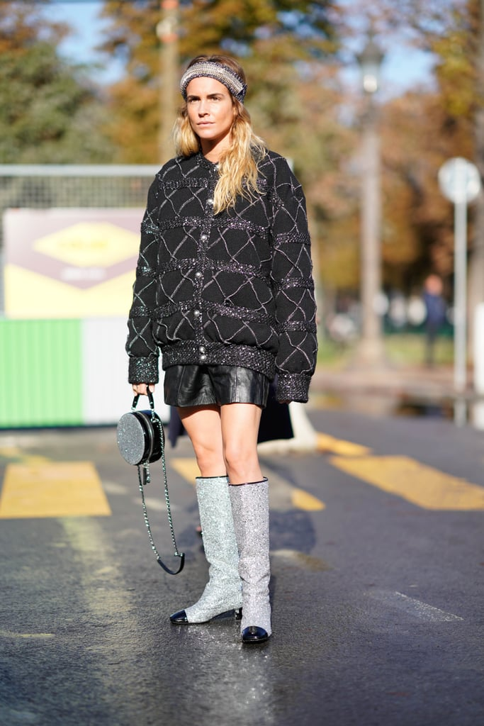 Striking Outerwear or a Voluminous Puffer Coat Will Make Your Outfit Just as Eye-Catching Up Top