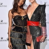 Jourdan Dunn and Karlie Kloss