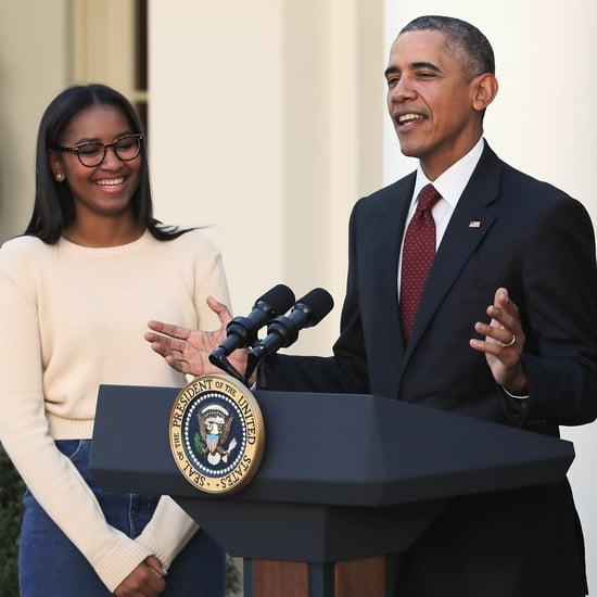 Barack Obama Reveals His Daughter Sasha Has a SoundCloud