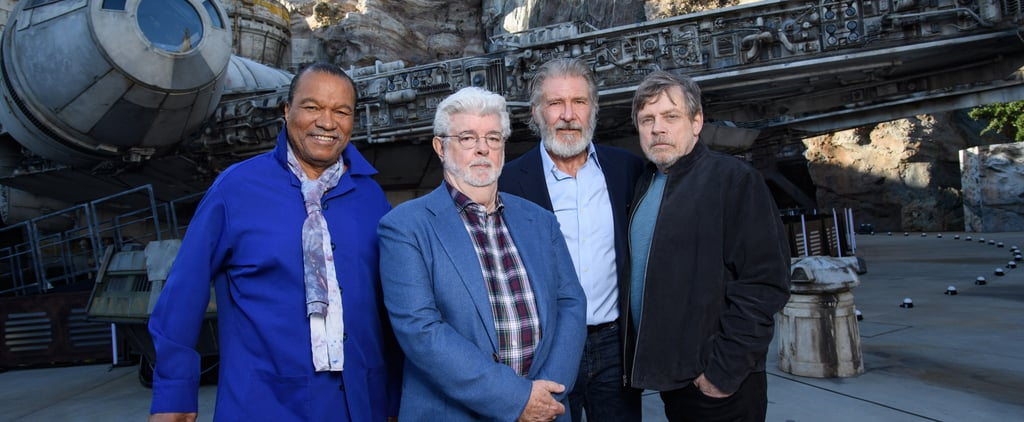 Star Wars Cast Reunion at Galaxy's Edge Disneyland Opening