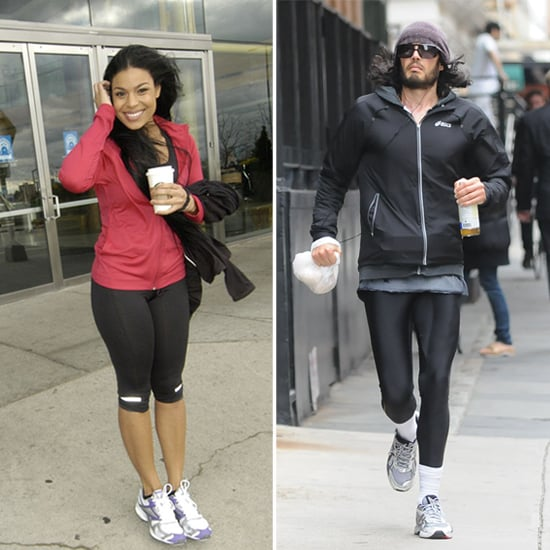 How Celebs Stay Bundled Up During Winter Workouts
