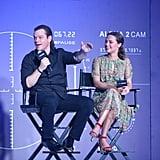 Matt Damon's Man Bun at Jason Bourne Premiere in China