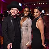 Pictured: Kelly Rowland, Boy George, and La La Anthony