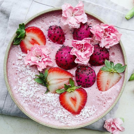 Smoothie Bowls Roses