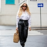Street Style Trend: Ankle Strap Shoes and Pants