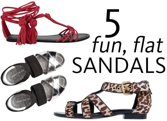 Five Fun Flat New Season Sandals To Shop Online Now! Colour-blocked, metallic, tassled & more from Wittner, PeepToe, Witchery