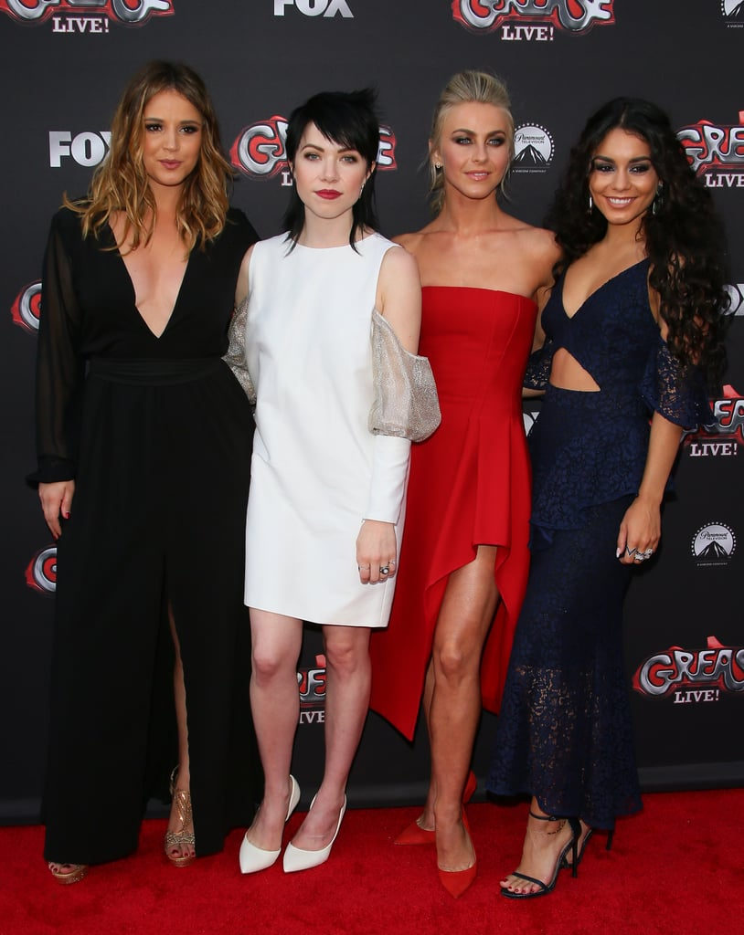 Grease Live Cast on Red Carpet June 2016