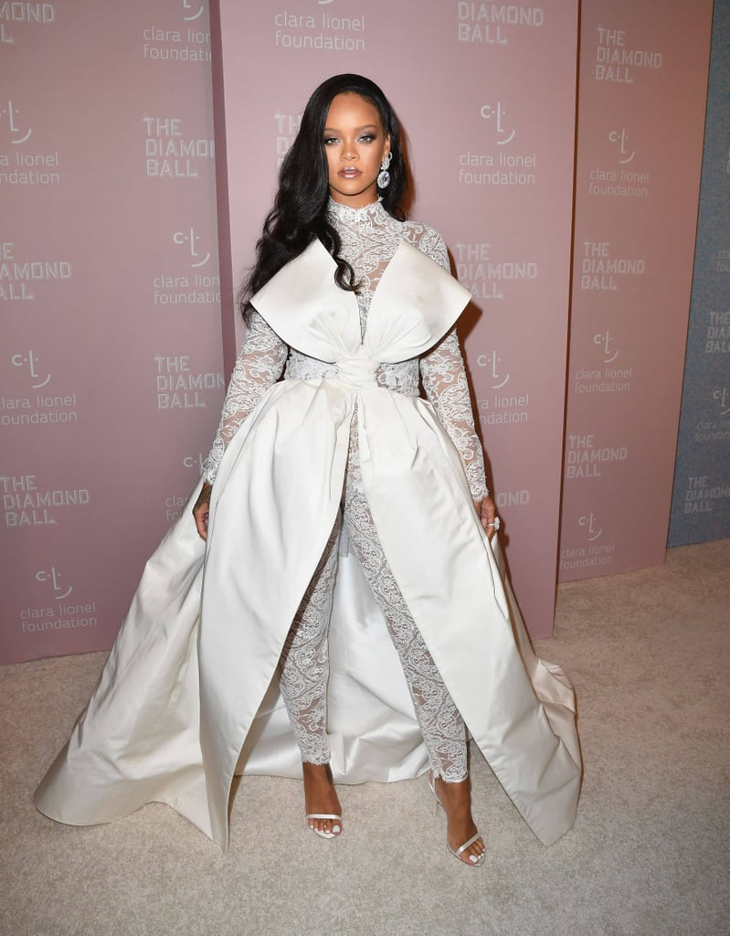 Rihanna\'s Diamond Ball Outfit 2018 | POPSUGAR Fashion