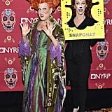 Relive the Moment Bette Midler Dusted Off Her Winifred Sanderson Costume From Hocus Pocus