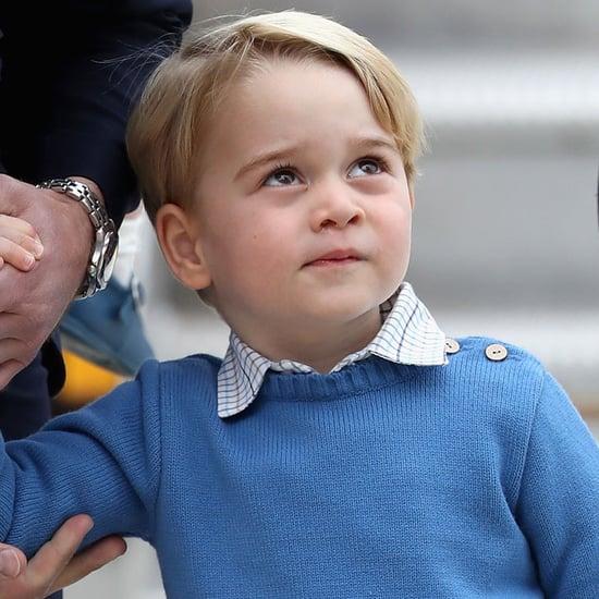 Prince George Ignoring Justin Trudeau's High Five