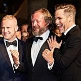 Pictured: Chris Pine, Ben Foster, and David Mackenzie