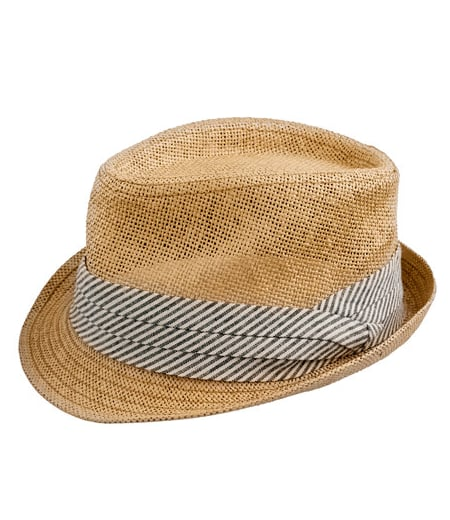 """""""This cute Trilby hat will be the perfect topper for my weekend bike excursions — I can already imagine the warm Summer breeze blowing in my face . . ."""" — Chi Diem Chau, associate editor  J.Crew Straw Trilby Hat ($40)"""