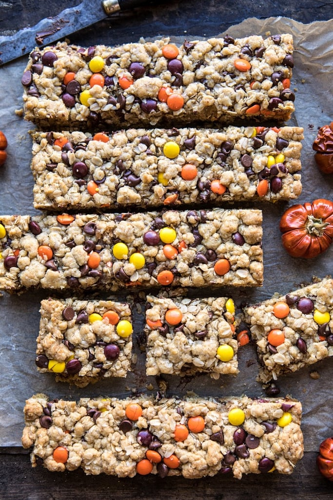 Monster Oatmeal Chocolate Chip Cookie Bars
