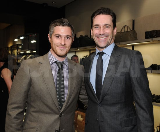 Pictures of Jon Hamm and Dave Annable at Event in LA