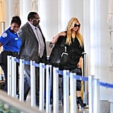 Jessica Simpson Heads Out of LA With a Smile, but Without Eric Johnson