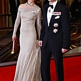 Mary and Frederik attending the American-Scandinavian Foundation's Centennial Ball in Oct. 2011.