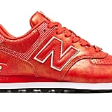 New Balance 574 Disney in red and white ($90)