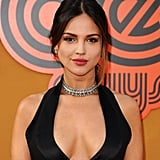 Eiza Gonzalez Sizzled at the Nice Guys Premiere in a Low-Cut Jumpsuit