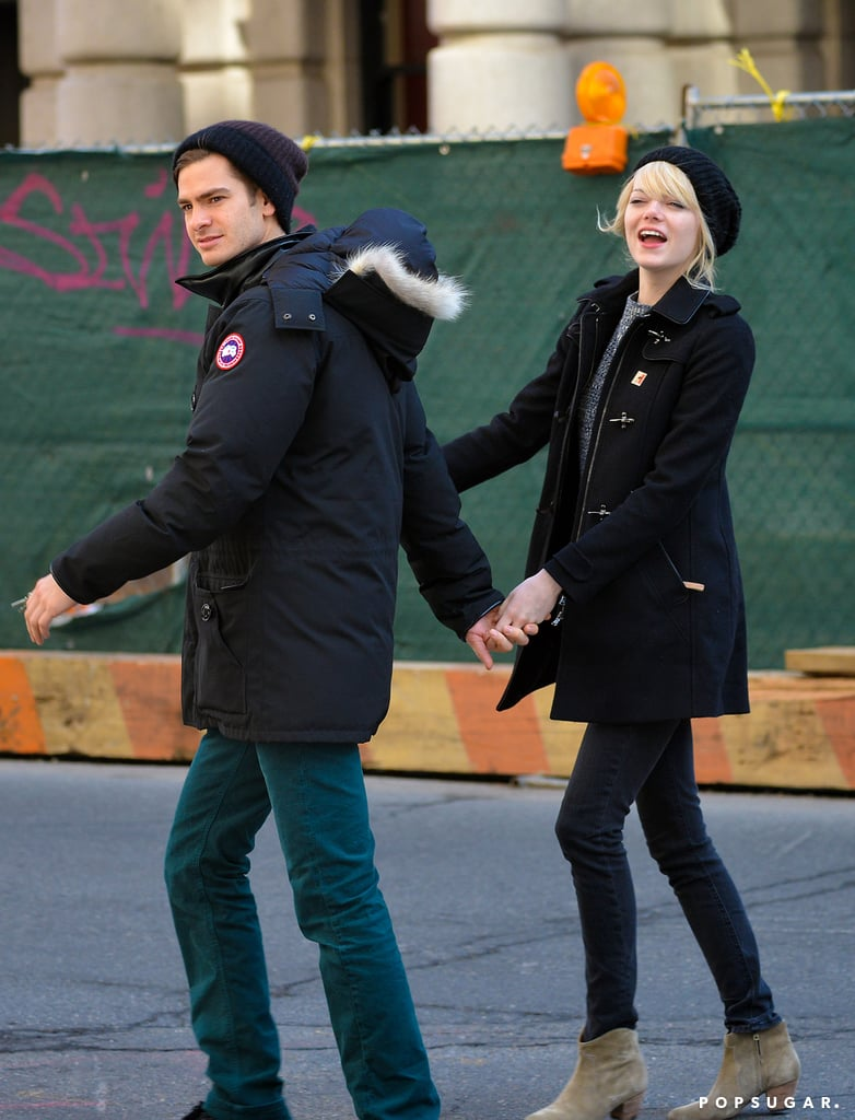Andrew Garfield and Emma Stone Holding Hands in NYC
