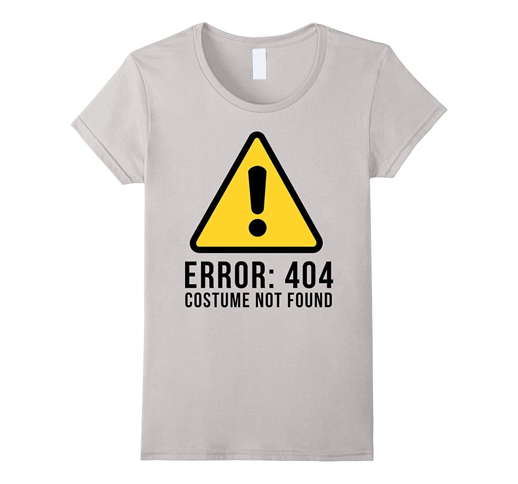 404 Not Found: T-Shirt Halloween Costumes