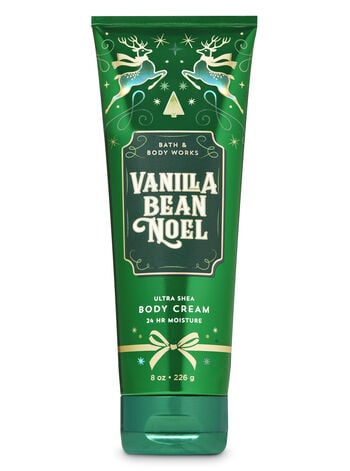 Bath & Body Works Vanilla Bean Noel Ultra Shea Body Cream