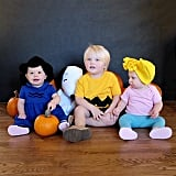 Charlie Brown, Sally, and Lucy (Great Pumpkin)